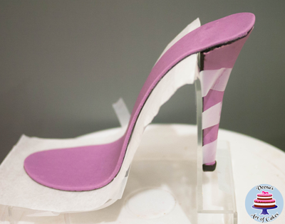 High Heel Shoe Template | Gum Paste Stiletto Shoe Tutorial